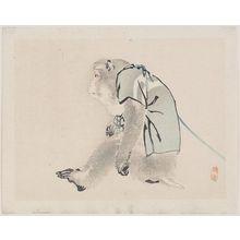幸野楳嶺: Performing Monkey - ボストン美術館