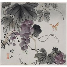 Nagamachi Chikuseki: Grapevine and Wasp - Museum of Fine Arts