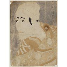 Toshusai Sharaku: Actor Morita Kan'ya VIII as the Palanquin-bearer Uguisu no Jirôsaku - Museum of Fine Arts