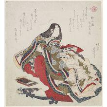 葛飾北斎: from the series Five Poetic Immortals (Gokasen) - ボストン美術館