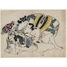鳥居清信: Erotic Print - ボストン美術館
