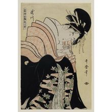 Kitagawa Utamaro: Takigawa, from the series Array of Supreme Beauties of the Present Day (Tôji zensei bijin-zoroe) - Museum of Fine Arts