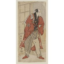Toshusai Sharaku: Actor Nakajima Wadaemon as Jizô, Substitute for the Landlord - Museum of Fine Arts