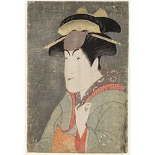 Toshusai Sharaku: Actor Nakayama Tomisaburô as Miyagino - Museum of Fine Arts