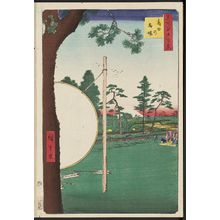 Utagawa Hiroshige: Takata Riding Grounds (Takata no baba), from the series One Hundred Famous Views of Edo (Meisho Edo hyakkei) - Museum of Fine Arts