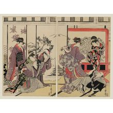 Kitagawa Utamaro: Housecleaning - Museum of Fine Arts