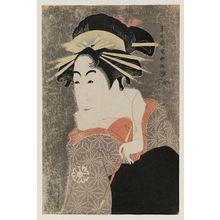Toshusai Sharaku: Actor Matsumoto Yonesaburô as Kewaizaka no Shôshô, Actually Shinobu - Museum of Fine Arts