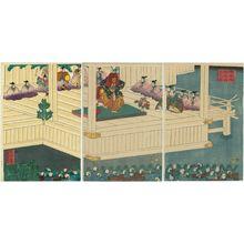 Utagawa Yoshikata: Kamakura dono on-Nô kôgyô no zu - Museum of Fine Arts
