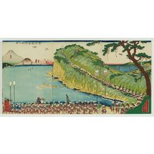 Utagawa Sadahide: View of Satta Pass on the Tôkaidô (Tôkaidô Satta tôge no kei) - Museum of Fine Arts