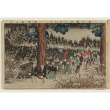 Adachi Ginko: The Foxes' Wedding (Kitsune no yomeiri), from the album Tawamure-e (Playful Pictures) - Museum of Fine Arts