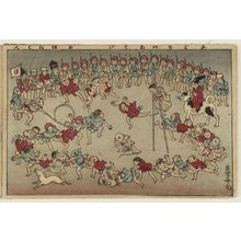 Adachi Ginko: Children's Games (Kodomo no asobi), from the album Tawamure-e (Playful Pictures) - Museum of Fine Arts