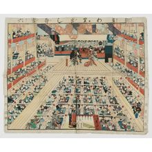 Utagawa Kunimaro I: Board game - Museum of Fine Arts