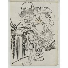 Unknown: Gama Sennin and His Toad - Museum of Fine Arts