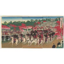 渡辺延一: Illustration of the Third National Industrial Exhibition (Dai sankai naikoku kangyô hakurankai no zu) - ボストン美術館