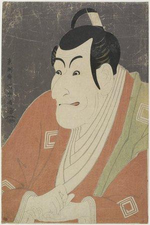 Toshusai Sharaku: Ichikawa Ebizo as Takemura Sadanoshin - Minneapolis Institute of Arts