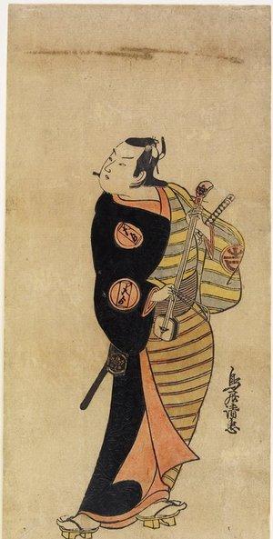 Torii Kiyotada I: Ichimura Takeno jo IV as Kichisaburo - Minneapolis Institute of Arts