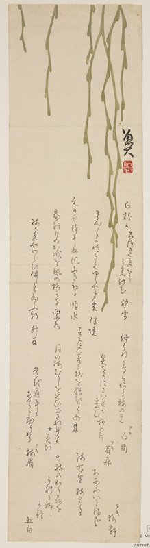 Sato_ Masuyuki: (Drooping willow) - Minneapolis Institute of Arts