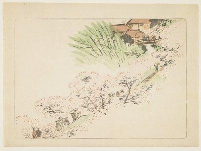 Shibata Zeshin: Mountain Cherry Blossoms - Minneapolis Institute of Arts
