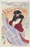 Ito Shinsui: Snowstorm - Minneapolis Institute of Arts