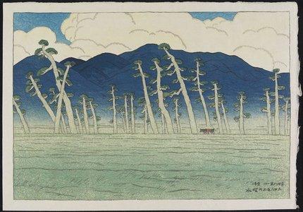 Ito Shinsui: Morning at Awazu - Minneapolis Institute of Arts