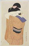 伊東深水: Woman in a Long Undergarment - ミネアポリス美術館