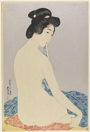 橋口五葉: Woman after Bath - ミネアポリス美術館