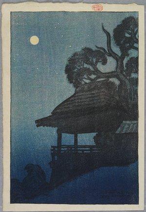 伊東深水: Ishiyama Temple - ミネアポリス美術館