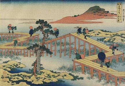 Katsushika Hokusai: Ancient View of