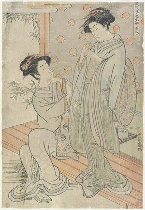 Isoda Koryusai: Red - Minneapolis Institute of Arts