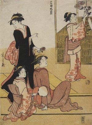 Hosoda Eishi: September - Minneapolis Institute of Arts