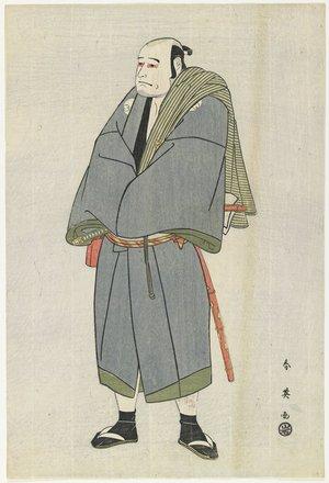 勝川春英: Arashi Ryuzo as Heiemon - ミネアポリス美術館