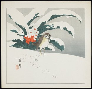 Takahashi Biho_: Bird in Snow - Minneapolis Institute of Arts