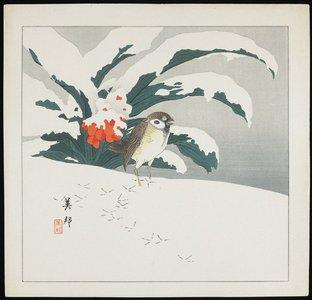 Takahashi Biho_: Bird in Snow - ミネアポリス美術館