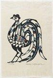 Watanabe Sadao: (Rooster) - Minneapolis Institute of Arts