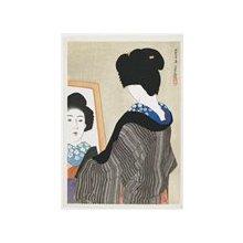 伊東深水: Kuro-eri (Black Collar) - ミネアポリス美術館