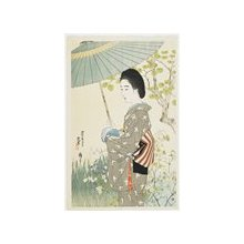 Ito Shinsui: Rainy Season in May - Minneapolis Institute of Arts