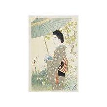 伊東深水: Rainy Season in May - ミネアポリス美術館