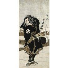 勝川春章: Otani Hiroeman III as Asahara Jiro - ミネアポリス美術館