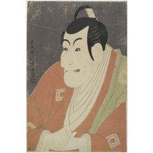 東洲斎写楽: Ichikawa Ebizo as Takemura Sadanoshin - ミネアポリス美術館