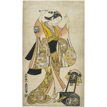 奥村利信: Sanjo Kantaro II as Yaoya Oshichi - ミネアポリス美術館