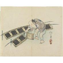 Yamada Ho_gyoku: (Drying Laver) - ミネアポリス美術館