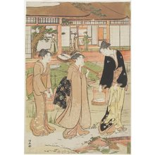 Torii Kiyonaga: Picnic in a Daimyo's Garden - Minneapolis Institute of Arts