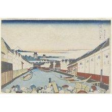Katsushika Hokusai: Nihonbashi Bridge in Edo - Minneapolis Institute of Arts
