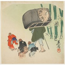 Shibata Zeshin: Scene from the