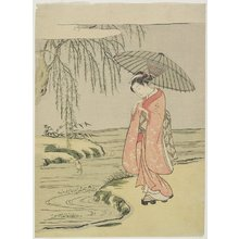 Suzuki Harunobu: Mitate of the Calligrapher Ono no Tofu - Minneapolis Institute of Arts