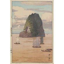 吉田博: Mount Xiaogushan - ミネアポリス美術館