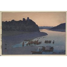 Yoshida Hiroshi: The Kiso River - Minneapolis Institute of Arts