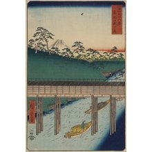 Utagawa Hiroshige: Ochanomizu in Edo - Minneapolis Institute of Arts