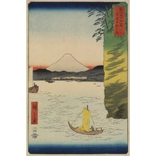 Utagawa Hiroshige: Honmoku Beach in Musashi Province - Minneapolis Institute of Arts