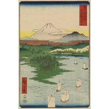 Utagawa Hiroshige: Noge Beach of Yokohama in Musashi Privince - Minneapolis Institute of Arts